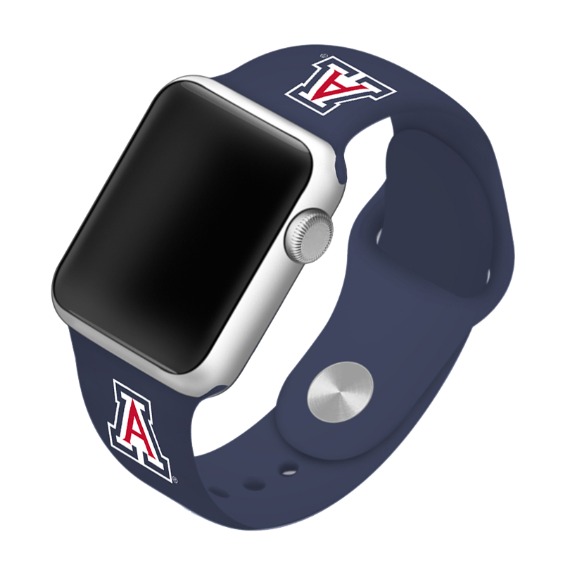 University of Arizona Wildcats Silicone Sport Band for Apple Watch®