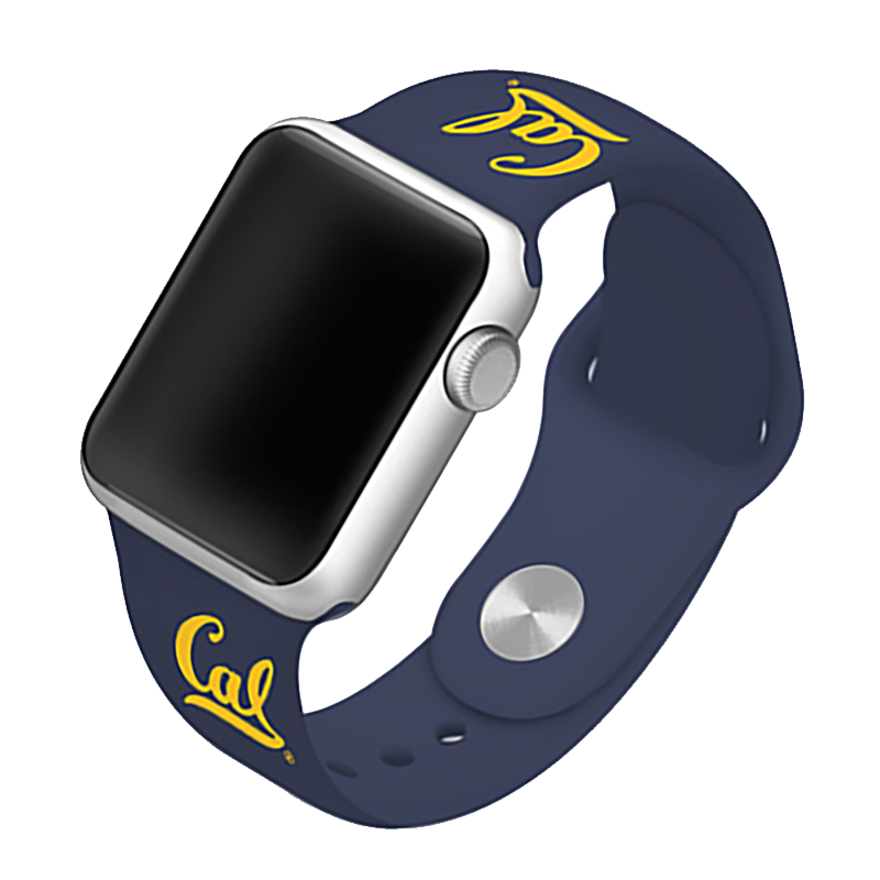 University of California, Berkley Golden Bears Silicone Sport Band for Apple Watch®