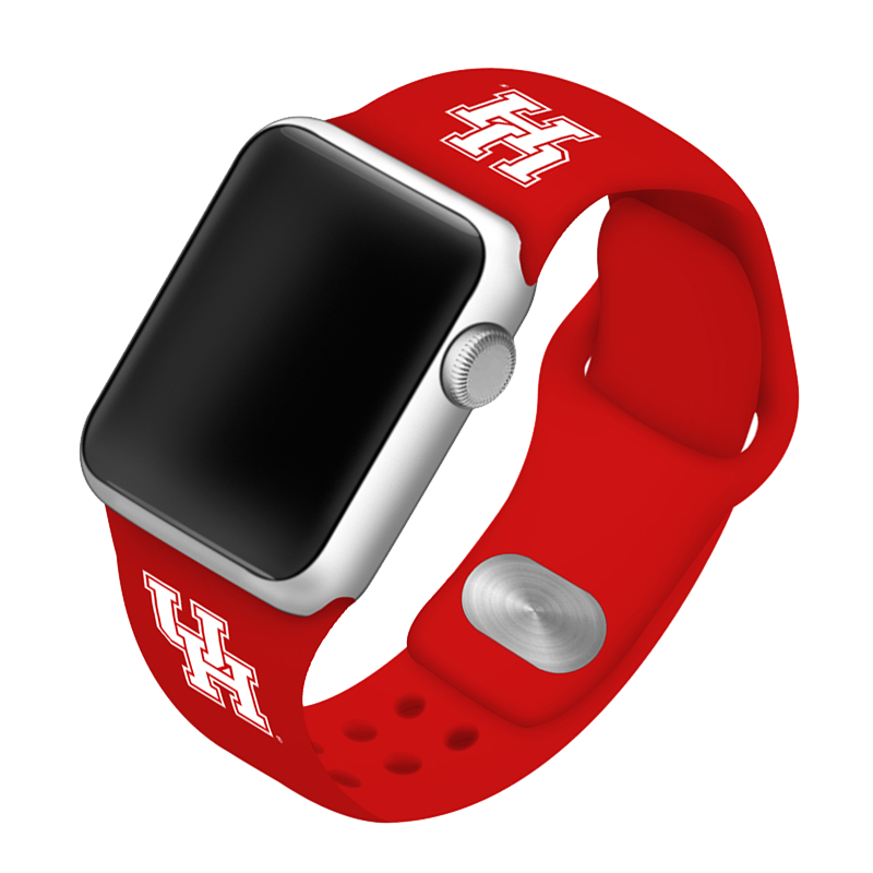 University of Houston Cougars Silicone Sport Band for Apple Watch®