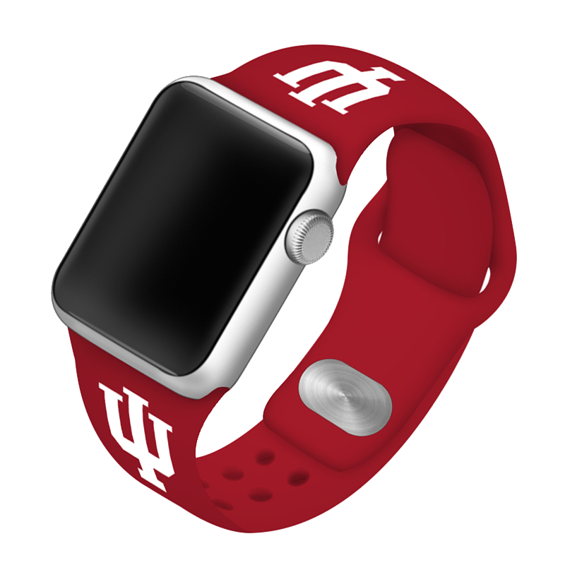 Indiana University Hoosiers Silicone Sport Band for Apple Watch®