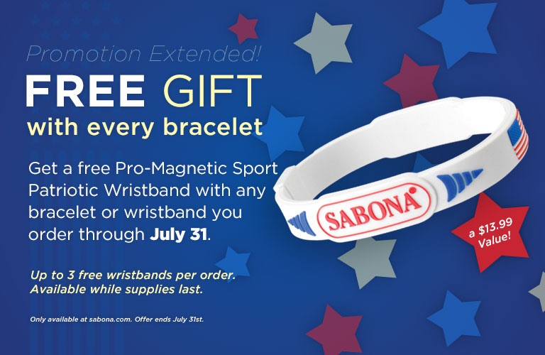 Free Gift until July 31st!