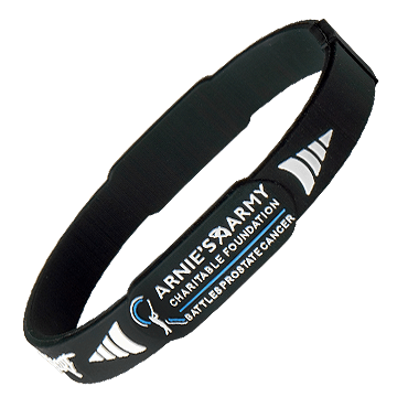 Arnie's Army Battles Prostate Cancer Pro-Magnetic Sport Wristband