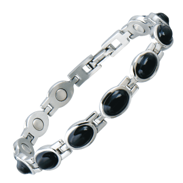 Lady Black Stone Magnetic Bracelet