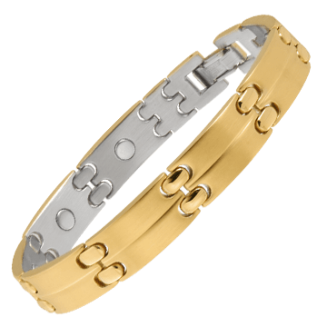 Executive Sport Gold Magnetic Bracelet