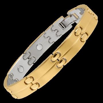 Executive Sport Gold Magnetic Bracelet