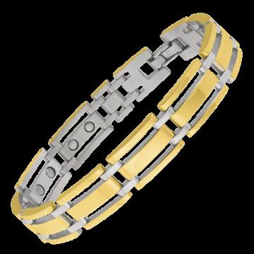 Executive Gold Link Magnetic Bracelet