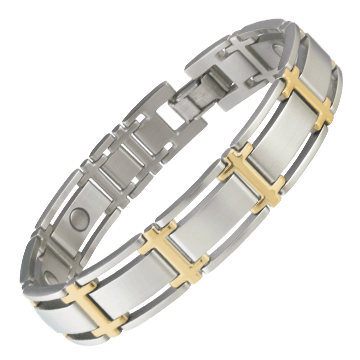 Executive Symmetry Duet Magnetic Bracelet