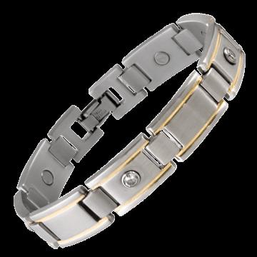 Men's Executive Gem Duet Magnetic Bracelet