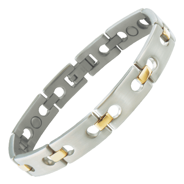 Executive Regency Duet Magnetic Bracelet
