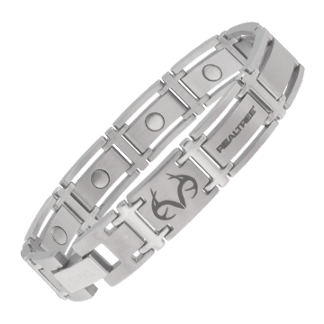 Realtree® Executive Stainless Magnetic Bracelet