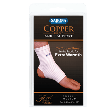 Copper Thread Ankle Support
