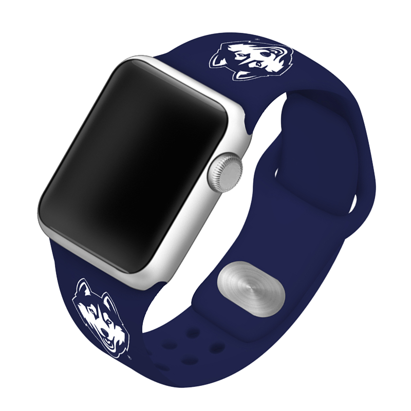 University of Connecticut Huskies Silicone Sport Band for Apple Watch®