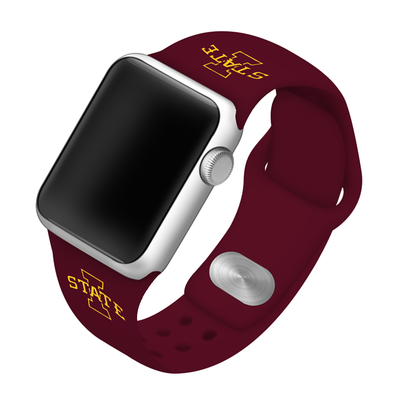 Iowa State University Cyclones Silicone Sport Band for Apple Watch®