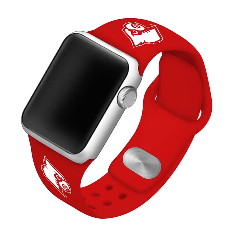 University of Louisville Cardinals Silicone Sport Band for Apple Watch®
