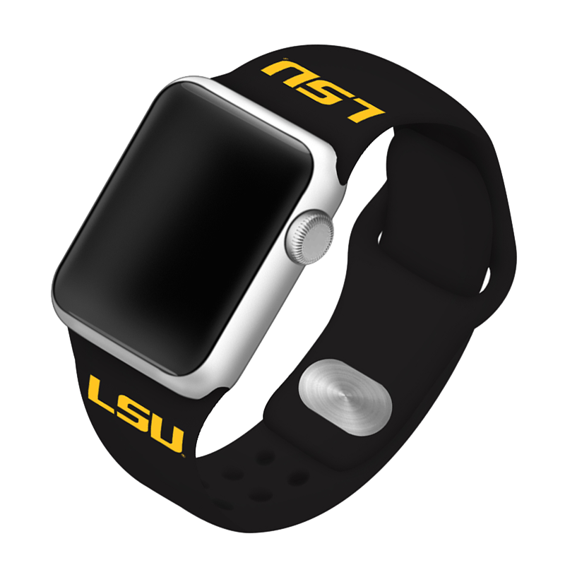 Louisiana State University Tigers Silicone Sport Band for Apple Watch®