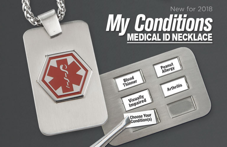 My Conditions Medical ID Necklace