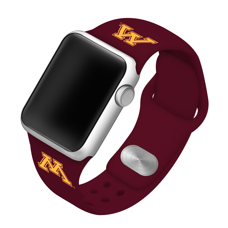 University of Minnesota Golden Gophers Silicone Sport Band for Apple Watch®