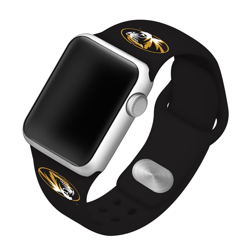 University of Missouri Tigers Silicone Sport Band for Apple Watch®