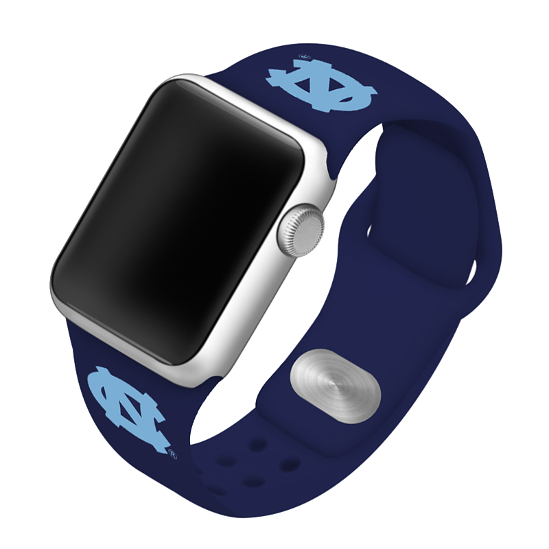 University of North Carolina Tar Heels Silicone Sport Band for Apple Watch®