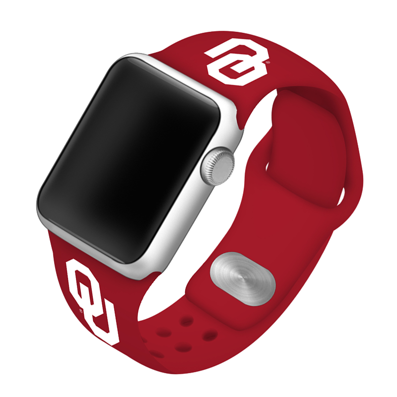 University of Oklahoma Sooners Silicone Sport Band for Apple Watch®