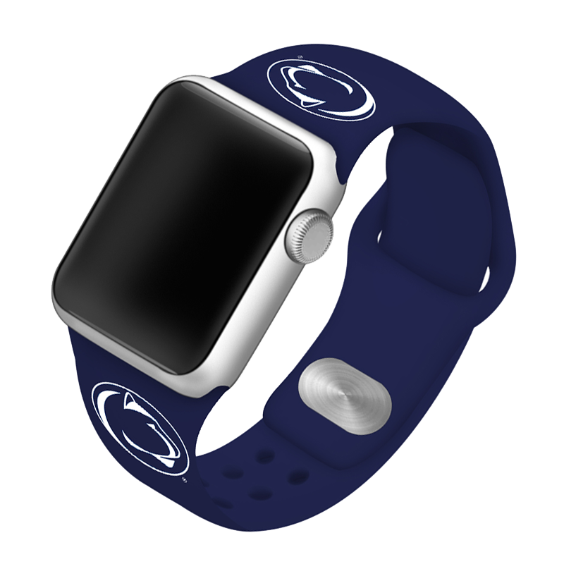 Penn State University Nittany Lions Silicone Sport Band for Apple Watch®