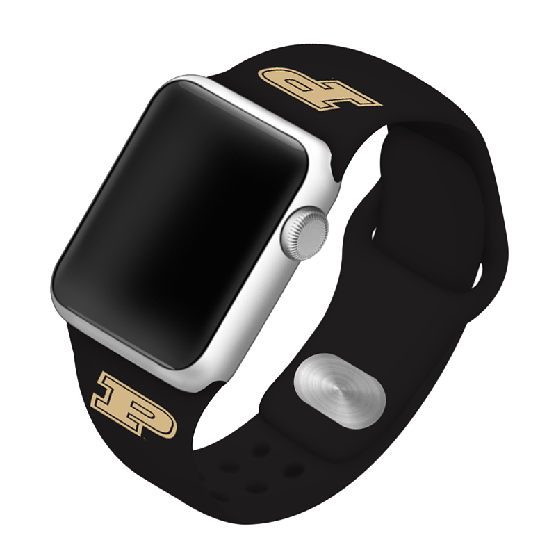 Purdue University Boilermakers Silicone Sport Band for Apple Watch®