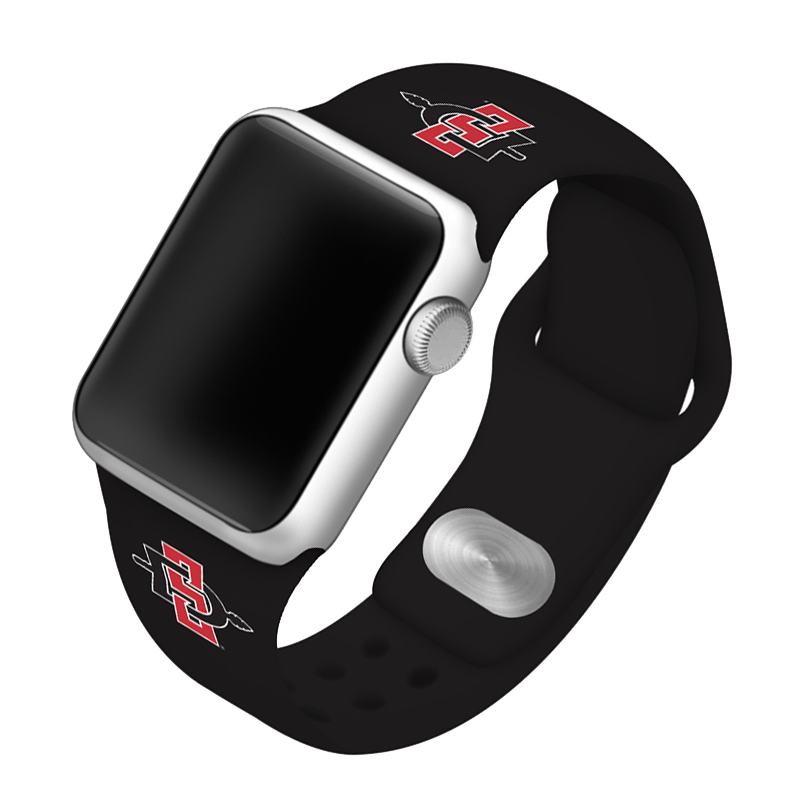 San Diego State University Aztecs Silicone Sport Band for Apple Watch®