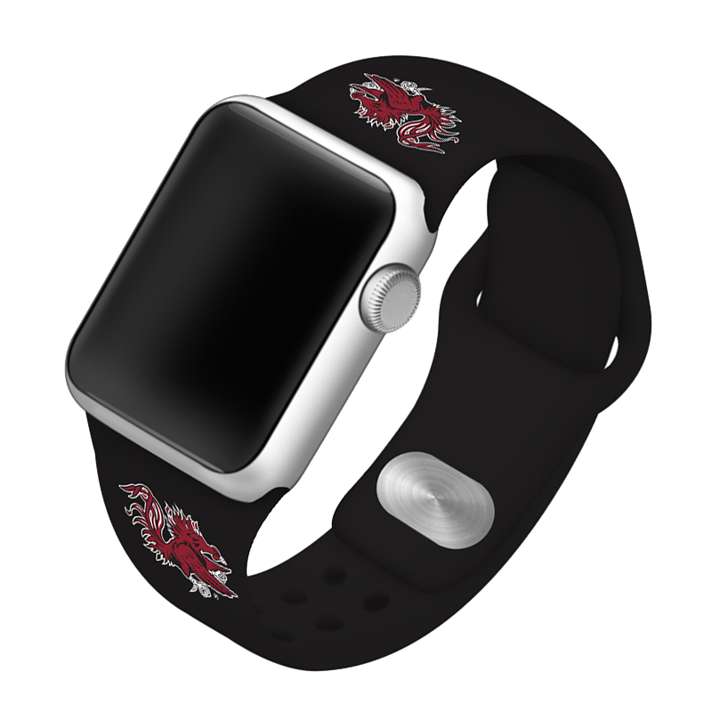University of South Carolina Gamecocks Silicone Sport Band for Apple Watch®