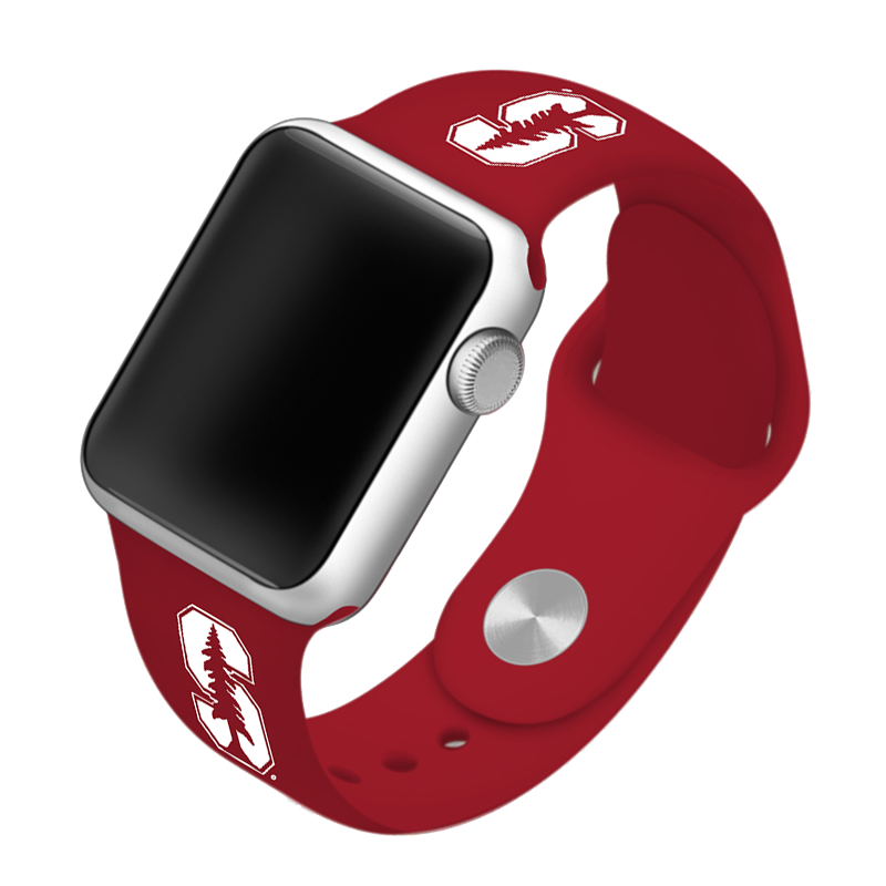 Stanford University Cardinal Silicone Sport Band for Apple Watch®