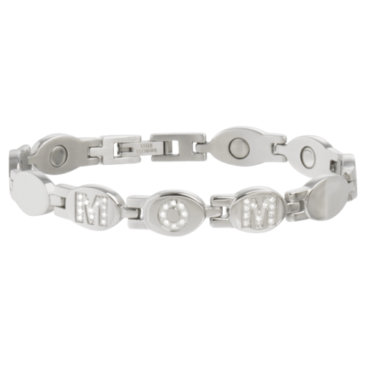 MOM Stainless Gem Magnetic Bracelet