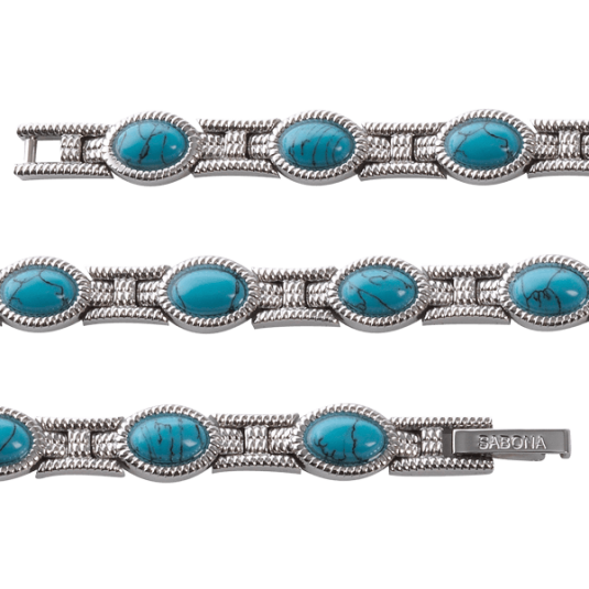 Lady Turquoise Magnetic, straight