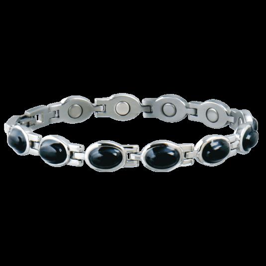 Lady Black Stone Magnetic Bracelet
