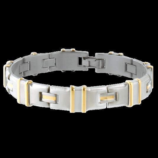 Executive Clip Duet Magnetic Bracelet