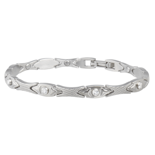 Lady Executive Matte Gem Magnetic Bracelet