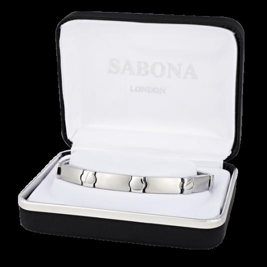 Stainless Elegance Magnetic Bracelet, case
