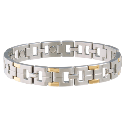Executive Men's Duet Magnetic Bracelet
