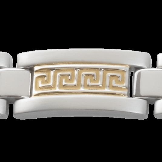 Greek Key Duet Magnetic, closeup