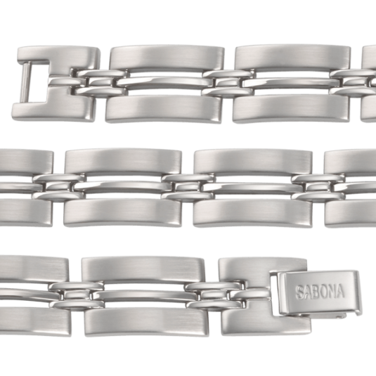 Imperial Stainless Magnetic Bracelet, straight
