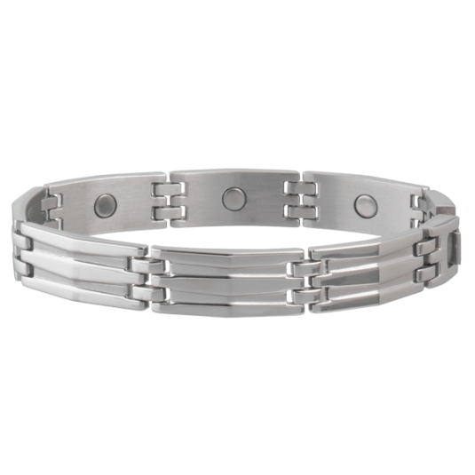 Silhouette Stainless Magnetic Bracelet