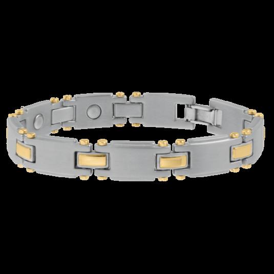 Titanium Duet Magnetic Bracelet