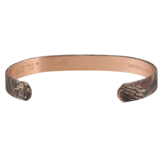 REALTREE® Camo Copper Wristband, back