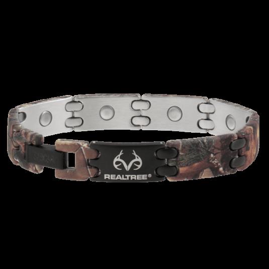 REALTREE® Camo Black Sport Magnetic Bracelet