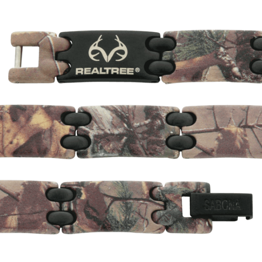 REALTREE® Camo Black Sport Magnetic, straight