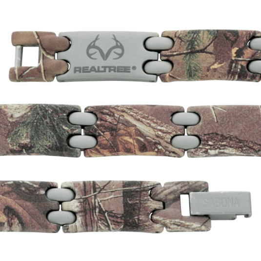 REALTREE® Camo Stainless Sport Magnetic, straight