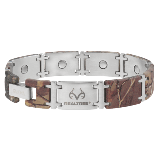 REALTREE® Camo Stainless Magnum Magnetic Bracelet