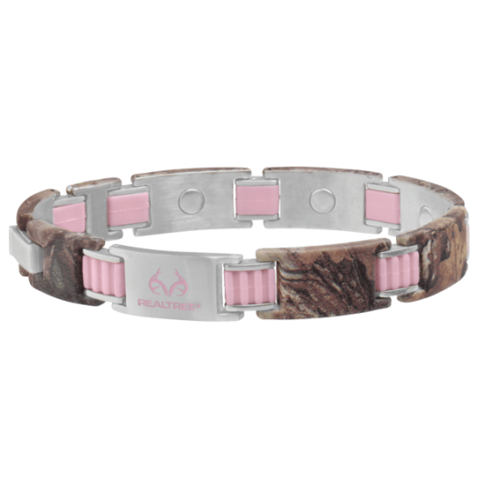 REALTREE® PinkLink Camo Magnetic Bracelet