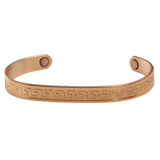 Aztec Copper Magnetic Wristband