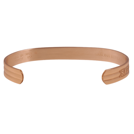 Classic Copper Magnetic Bracelet, back