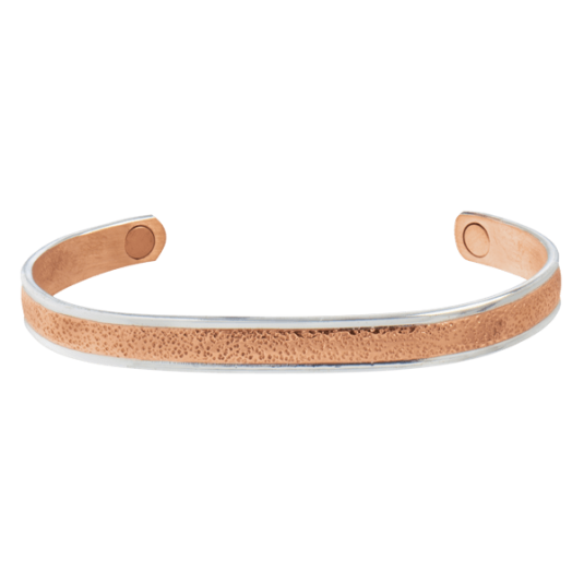 Pebbled Horizon Magnetic Wristband