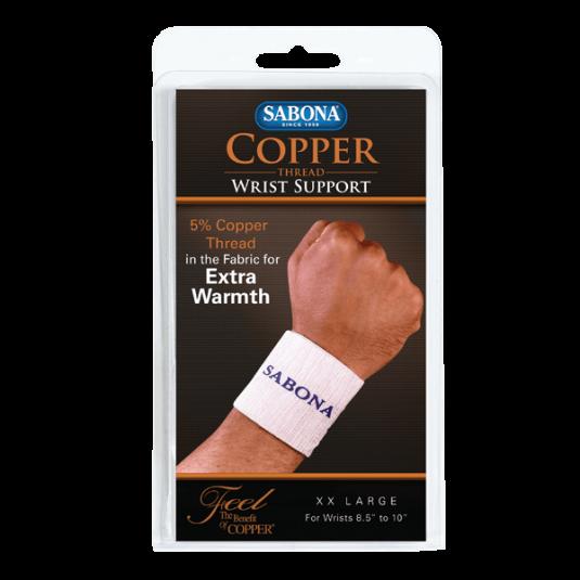 Copper Thread Wrist Support